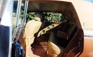 Intérieur - Rolls Royce Silver Wraith II 1983_17