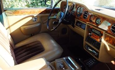 Intérieur - Rolls Royce Silver Wraith II 1983_9